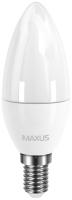 Лампочка Maxus 1-LED-5312 C37 CL-F 4W 4100K E14