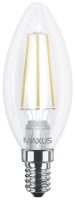 Лампочка Maxus 1-LED-538 C37 FM-C 4W 4100K E14