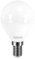 Лампочка Maxus 1-LED-5411 G45 F 4W 3000K E14