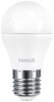 Фото - Лампочка Maxus 1-LED-541 G45 F 6W 3000K E27