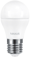 Лампочка Maxus 1-LED-541 G45 F 6W 3000K E27