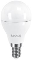 Лампочка Maxus 1-LED-543 G45 F 6W 3000K E14