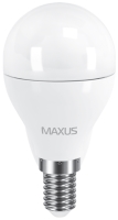 Фото - Лампочка Maxus 1-LED-544 G45 F 6W 4100K E14