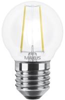 Фото - Лампочка Maxus 1-LED-545 G45 FM 4W 3000K E27
