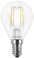 Лампочка Maxus 1-LED-547 G45 FM 4W 3000K E14