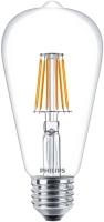 Лампочка Philips LED Filament ST64 7.5W 2700K E27
