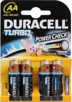 Фото - Аккумулятор / батарейка Duracell  4xAA Turbo MN1500