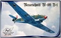 Сборная модель AVIS Messerschmitt Bf-109 B-1 (1:72)