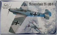Сборная модель AVIS Messerschmitt Bf-109 C-1 (1:72)