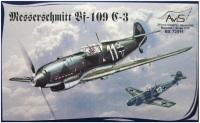Сборная модель AVIS Messerschmitt Bf-109 C-3 (1:72)