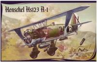 Фото - Сборная модель AVIS Henschel Hs123 A-1 (1:72)