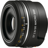 Объектив Sony SAL-30M28 30mm F2.8 Macro