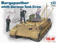 Сборная модель ICM Bergepanther (1:35)