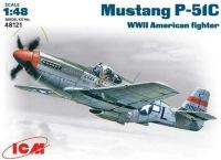 Сборная модель ICM Mustang P-51C (1:48)