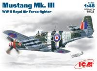 Сборная модель ICM Mustang Mk.III (1:48)