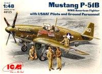 Фото - Сборная модель ICM Mustang P-51B (1:48)
