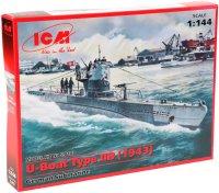 Сборная модель ICM U-Boat Type IIB (1943) (1:144)