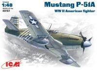 Сборная модель ICM Mustang P-51A (1:48)