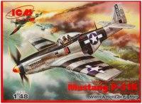 Сборная модель ICM Mustang P-51K (1:48)