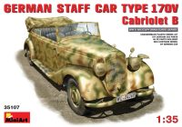 Фото - Сборная модель MiniArt Staff Car Type 170V Cabriolet B (1:35)