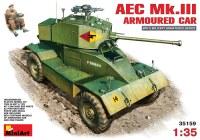 Сборная модель MiniArt AEC Mk.III Armoured Car (1:35)