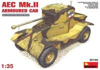 Сборная модель MiniArt AEC Mk.II Armoured Car (1:35)