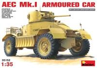 Сборная модель MiniArt AEC Mk.I Armoured Car (1:35)