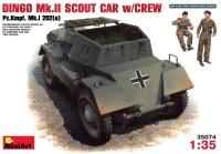 Сборная модель MiniArt Dingo Mk.II Scout Car w/Crew (1:35)