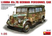 Фото - Сборная модель MiniArt L1500A Kfz.70 German Personnel Car (1:35)