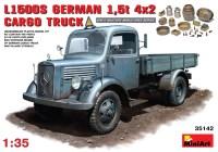 Сборная модель MiniArt MB 1500S German 4x2 Cargo Truck (1:35)