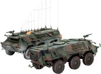 Сборная модель Revell TPz 1 Fuchs EloKa Hummel ABC Spurpanzer (1:72)