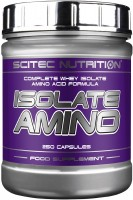 Фото - Амінокислоти Scitec Nutrition Isolate Amino 500 cap