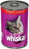 Корм для кошек Whiskas Adult Pate Beef 0.4 kg