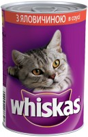 Корм для кошек Whiskas Adult Sauce Beef 0.4 kg