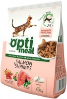 Корм для кошек Optimeal Adult Salmon/Shrimps 0.3 kg