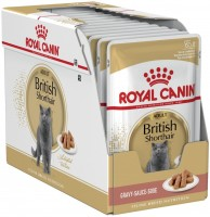 Корм для кошек Royal Canin Packaging Sauce British Shorthair 0.085 kg