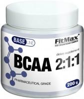 Фото - Амінокислоти FitMax Base BCAA 2-1-1 200 g