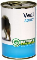 Фото - Корм для собак Natures Protection Adult Canned Veal 0.4 kg