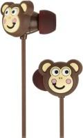 Наушники KitSound My Doodles Monkey In-Ear