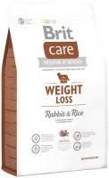 Корм для собак Brit Care Weight Loss Rabbit/Rice 1кг