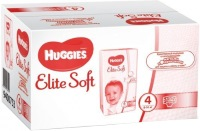 Подгузники Huggies Elite Soft 4 / 132 pcs