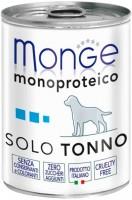 Корм для собак Monge Monoproteico Solo Pate Tuna 0.4кг