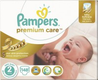 Подгузники Pampers Premium Care 2 / 148 pcs
