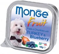 Корм для собак Monge Fruit Pate Turkey/Blueberry 0.1 kg 0.1кг