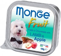 Корм для собак Monge Fruit Pate Lamb/Apple 0.1 kg 0.1кг