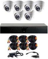 Комплект видеонаблюдения CoVi Security AHD-6D Kit