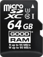 Фото - Карта памяти GOODRAM microSDXC M3AA UHS-I U3  64ГБ