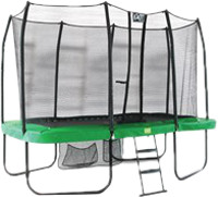 Фото - Батут Exit JumpArenA Rectangle All-in 1 7x12ft