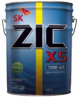 Моторное масло ZIC X5 10W-40 Diesel 20L