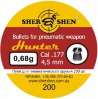 Фото - Пули и патроны Shershen Hunter 4.5 mm 0.68 g 200 pcs